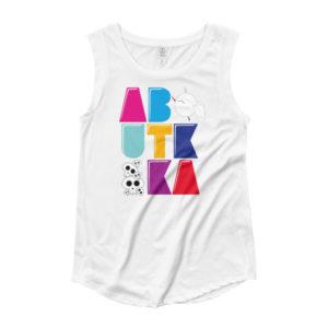 Ladies' Cap Sleeve T-Shirt – Aboutkika colors
